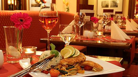 Romantisches Abendessen im Lauterbach in Cottbus