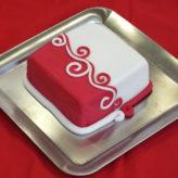 Lauterbach Torte - Rot/Weiß